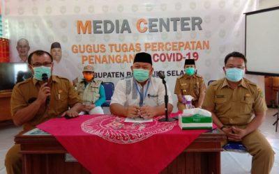Terkonfirmasi Positif Covid-19 di Bengkulu Selatan Bertambah Satu Orang