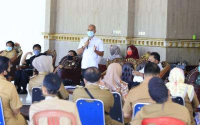 New Normal, Pemkab BS Tutup Posko Air Tenam dan Susun Panduan Pesta Pernikahan